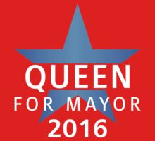 United - Queen for Mayor One Piece - Long Sleeve