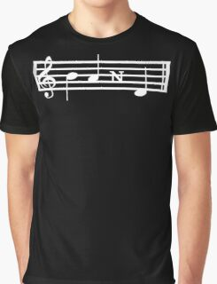 BAND Treble Staff Graphic T-Shirt