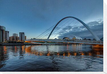 Millennium Bridge Newcastle by Trevor Kersley