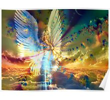 Angel Above the Clouds Poster