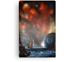 Last Voyage of Columbus (Edge of Eternity) Canvas Print