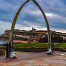 Whitby Whale Bones by Trevor Kersley