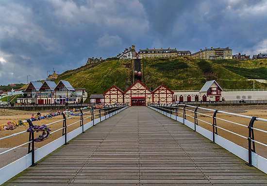 Saltburn Pier by Trevor Kersley