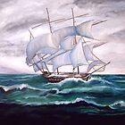 """SHIP OUT TO SEA"" by Manuel Sanchez"