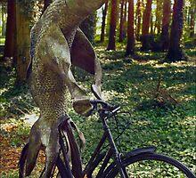 Fish On A Bike by Karl Willson