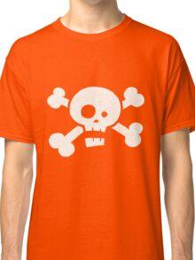 Children's Vintage Skull & Crossbones Tshirt - Hand Illustrated Classic T-Shirt