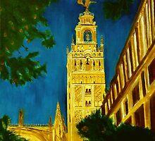 La Giralda de Sevilla by Manuel Sanchez