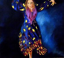 Raquel Heredia by Manuel Sanchez