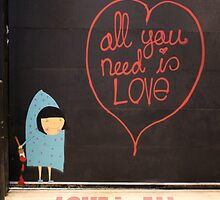 All You Need Is Love by jamesliupenn