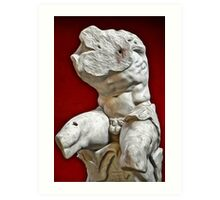 Belvedere Sculpture Art Print