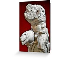 Belvedere Sculpture Greeting Card