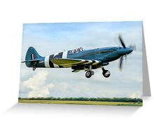The Sleekest Spitfire? Greeting Card