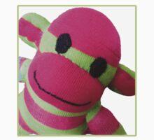 Sock Monkey Cute Kids Clothes