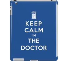 Keep Calm I Am The Doctor iPad Case/Skin
