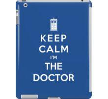Keep Calm I Am The Doctor iPad Case/Skin
