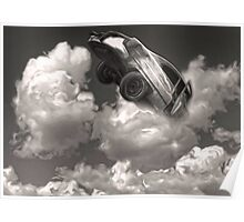 Car Crash in the Clouds Poster