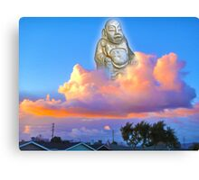 Buddha of Suburbia Canvas Print