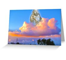 Buddha of Suburbia Greeting Card
