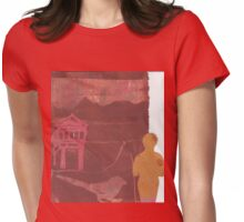 Peaks and Gables Womens Fitted T-Shirt