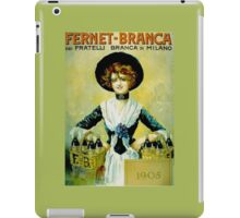 Fernet 1905 iPad Case/Skin