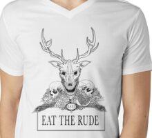Hannibal - Eat the Rude  Mens V-Neck T-Shirt