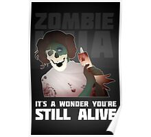 Zombie Leia Poster