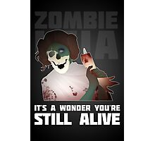 Zombie Leia Photographic Print