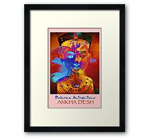 MA_Nefertiti_1 Framed Print