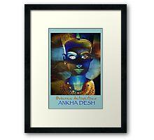 MA_Nefertiti_3 Framed Print