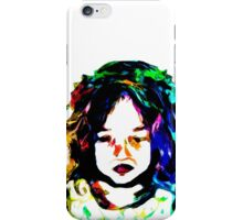 Little Rainbow Girl iPhone Case/Skin