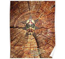 wood bruxo 25 Poster