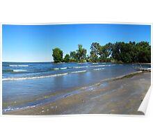 Lake Erie At Sheldon Marsh 2 Poster