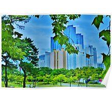 Busan, South Korea Poster