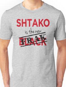 Shtako is the New Frak - Defiance & Battlestar Slang - Science Fiction Geek Speak - Parody of New Black Unisex T-Shirt