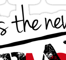 Shtako is the New Frak - Defiance & Battlestar Slang - Science Fiction Geek Speak - Parody of New Black Sticker