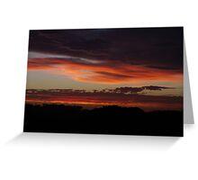 Sunrise at Munglinup, WA Greeting Card