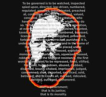 Proudhon Anarchist Mutualism TO BE GOVERNED Unisex T-Shirt