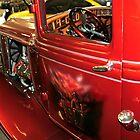 Painted door Old Ford Truck by Randy & Kay Branham