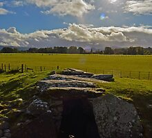 Nether Largie Chambered Cairn by Ian Mac
