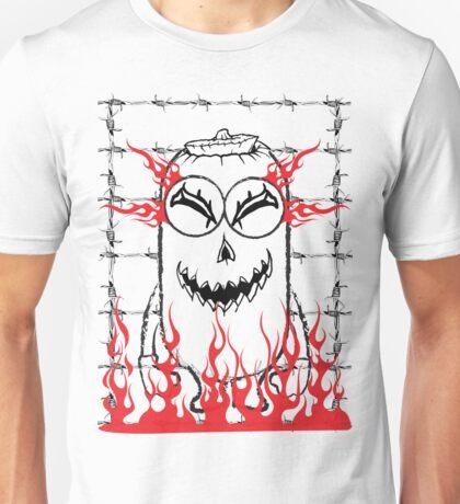 Evil pumpkin mini Unisex T-Shirt