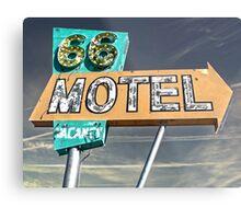 Motel 66 Metal Print