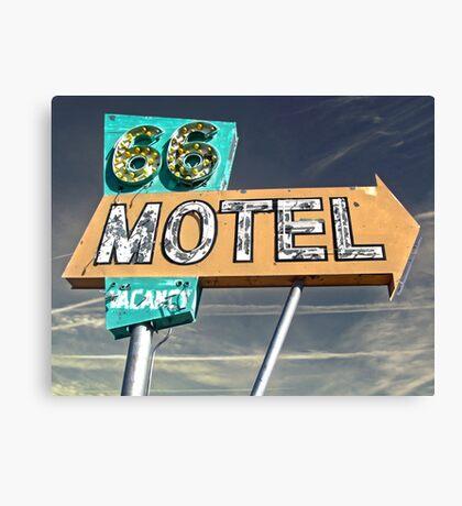 Motel 66 Canvas Print
