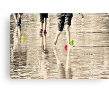 Beach Games Canvas Print