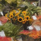 Sunflowers for Sale by Glen Allen
