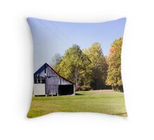 BARN IN THE KNOBS Throw Pillow