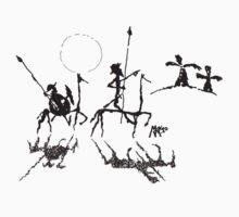 Don Quijote y Sancho Panza by mago