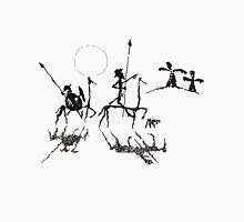 Don Quijote y Sancho Panza Mens V-Neck T-Shirt