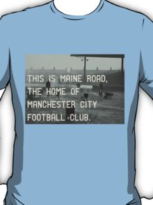 Manchester City Football Club T-Shirt