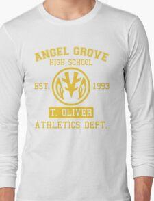 Angel Grove H.S. (White Ranger Edition) Long Sleeve T-Shirt