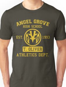Angel Grove H.S. (White Ranger Edition) Unisex T-Shirt